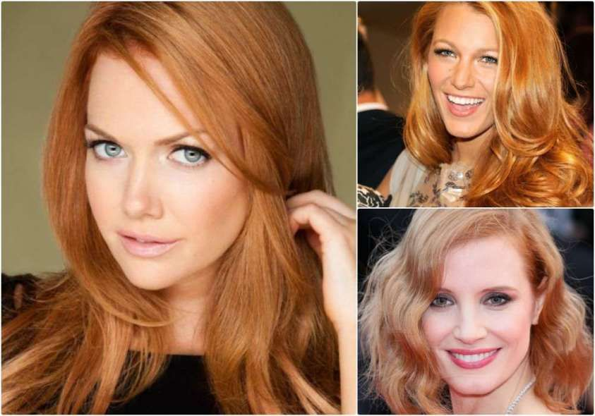 Tendenza capelli strawberry blonde nel 2016