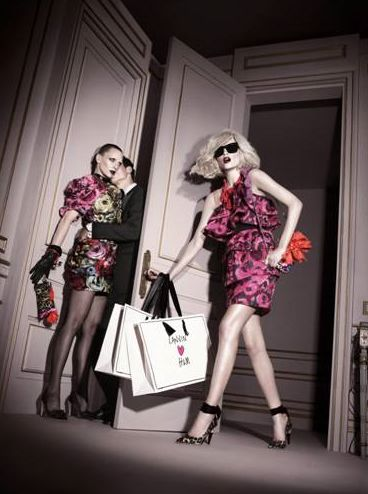 h m by lanvin campagna