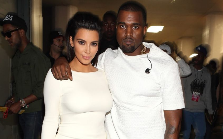 kim kardashian kanye west coppia fashion star system