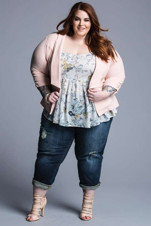 modelle curvy  tess holliday
