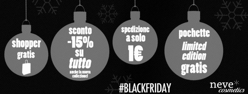 neve cosmetics black friday
