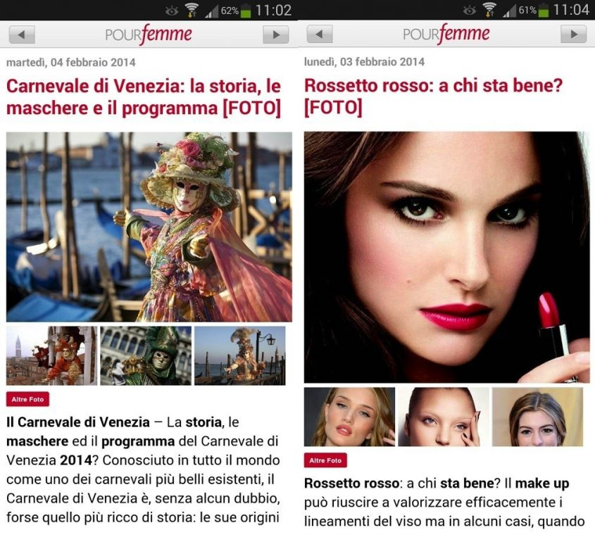 pourfemme app android