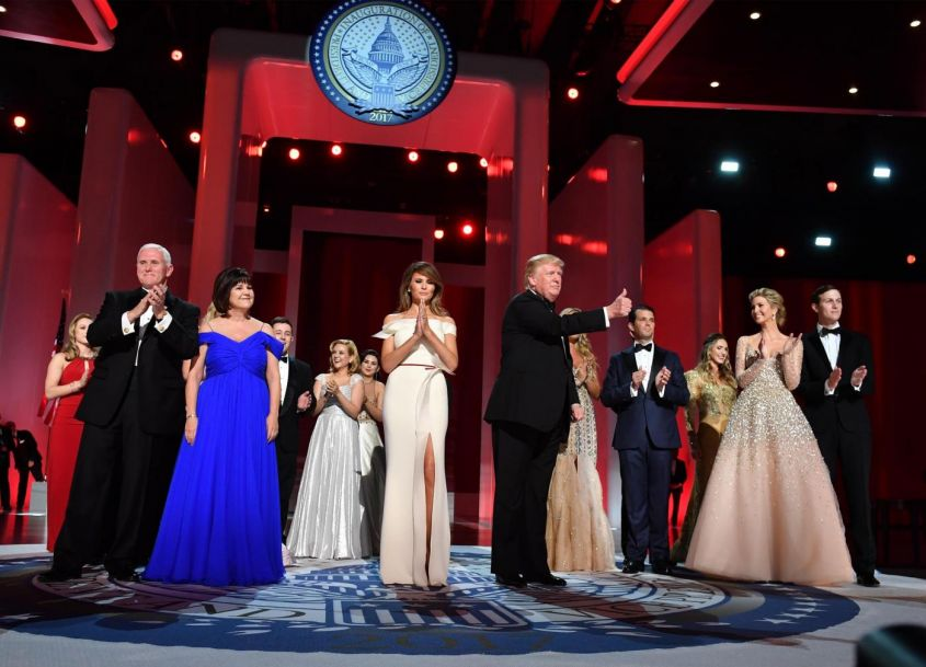 Presidente Trump, Freedom Ball Ball a Washington