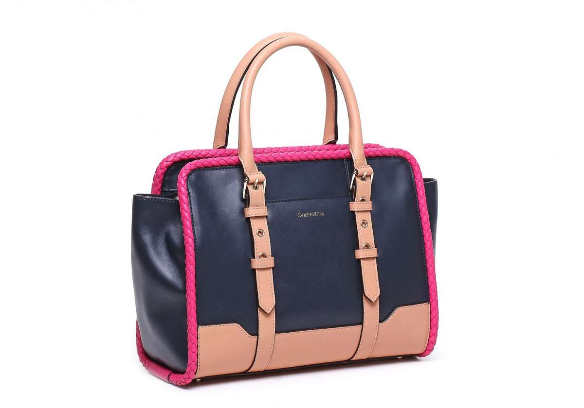 Handbag in color block Gherardini