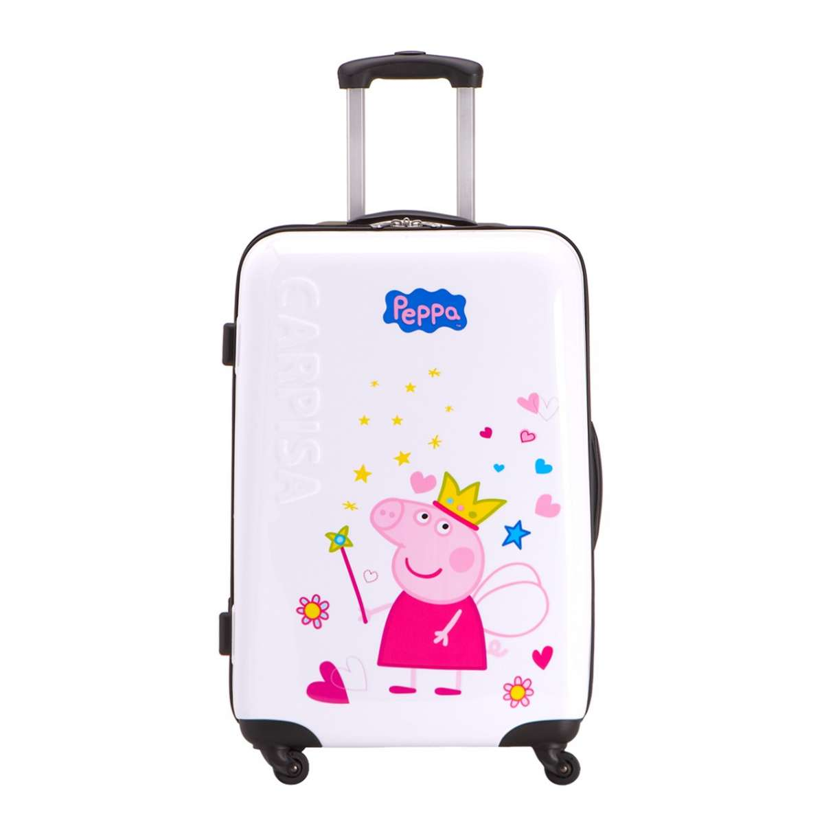 Trolley Carpisa Peppa Pig Princess bianco