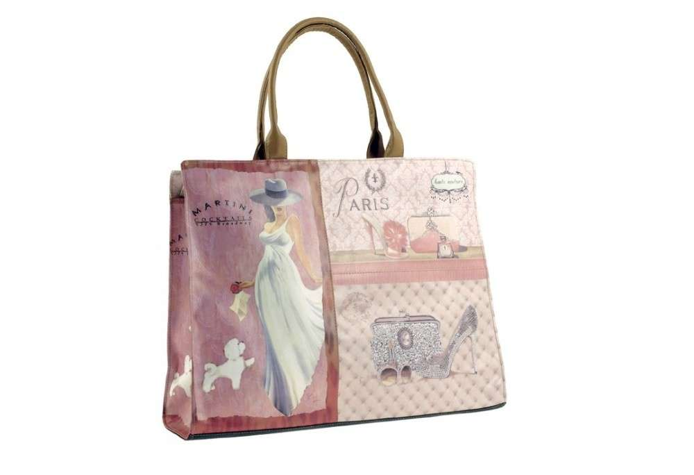 Shopper con stampa