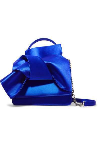 Knot Satin Bag No 21