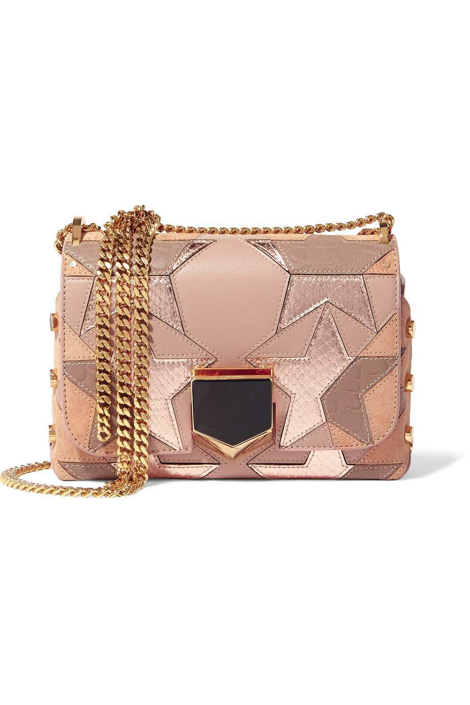Mini bag metallizzata Jimmy Choo