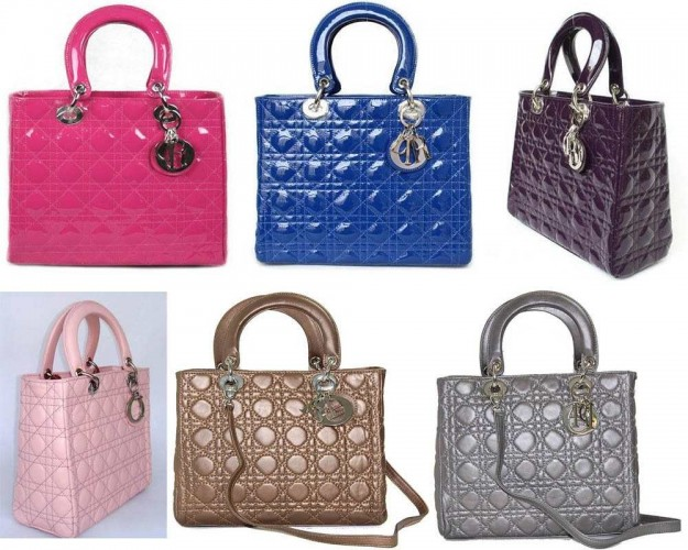 Lady Dior, i modelli colorati