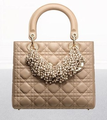 Lady Dior, modello con perle