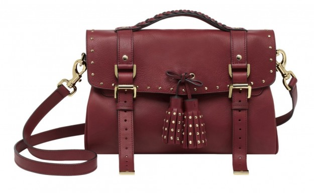 Black Forest Tassel Bag Mulberry