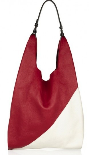 Bicolor Tote Jil Sander