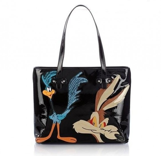 Shopper con stampa Looney Tunes