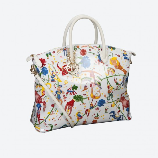 Shopper Piero Guidi Magic Circus Flowers