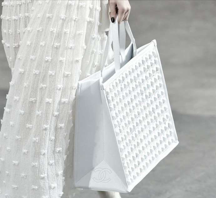Borse total white Primavera/Estate 2014