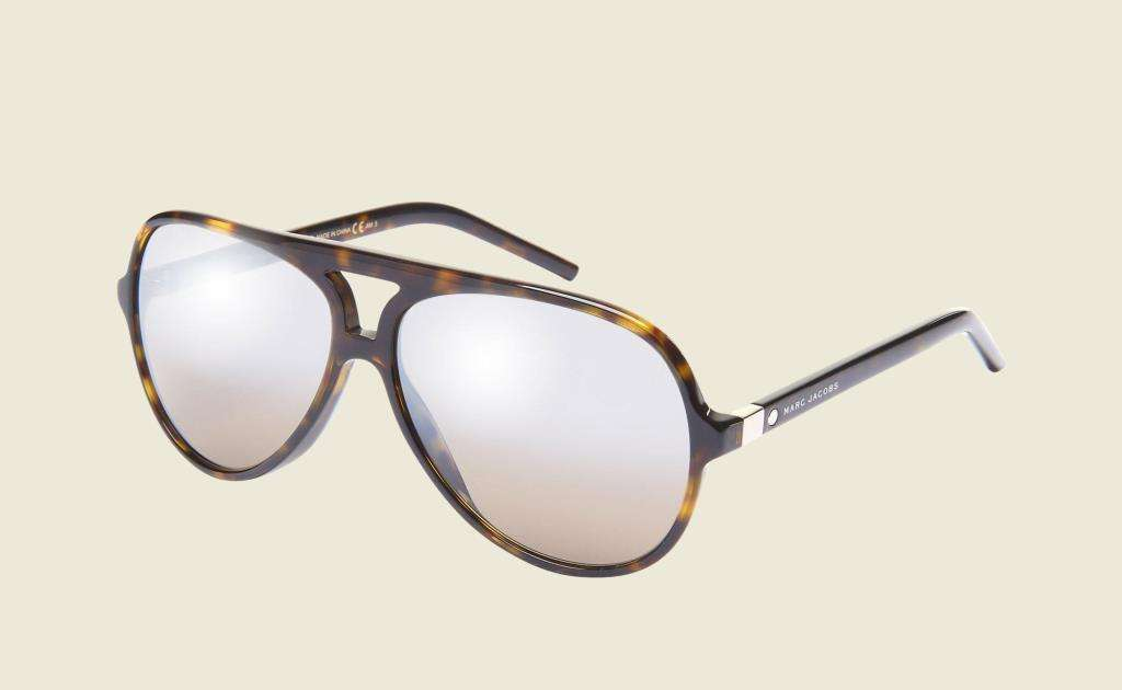 Aviator sunglasses tartarugati Marc Jacobs