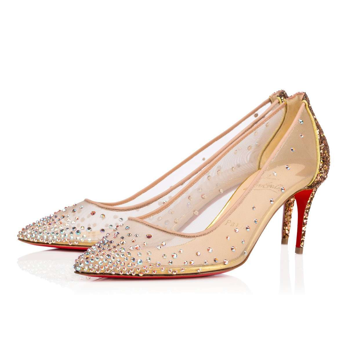 Pumps gioiello mesh Christian Louboutin