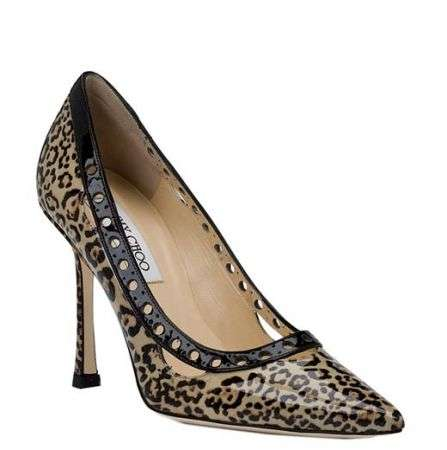 jimmy choo decolletes leopardate