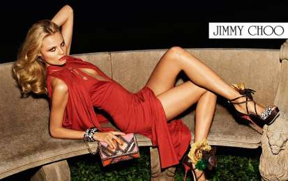 Jimmy Choo, foto dell'adv P/E 2012