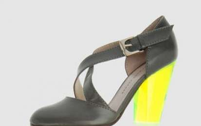 Marc Jacobs tacco fluo