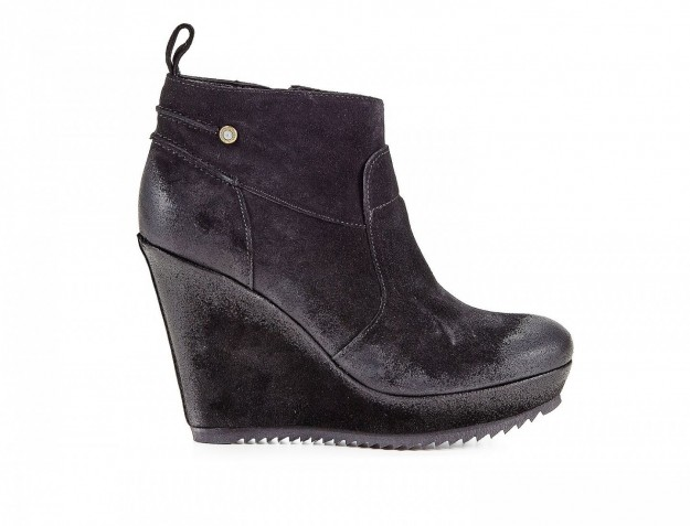 Ankle boot con zeppa