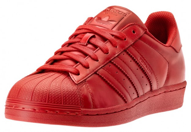 adidas originals superstar rosse