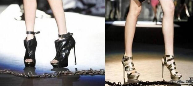 Scarpe Dsquared2 dalla sfilata Primavera/Estate 2013 [FOTO]
