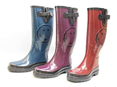 smiley collection rain boots inverno 2010
