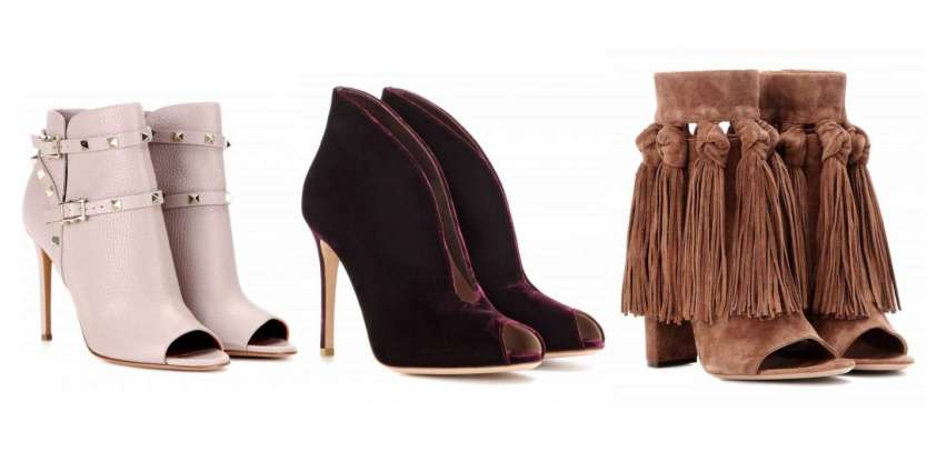 Ankle boots open-toe Autunno Inverno 2016-2017