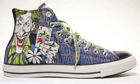 Converse All Star Hi con i supereroi