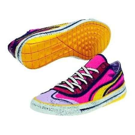 sneakers fluo puma