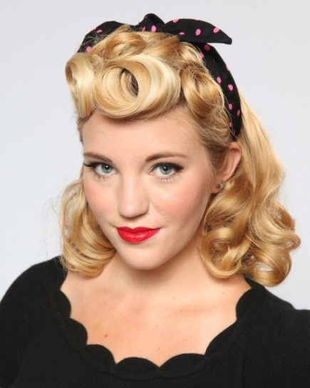 Easy Vintage Hairstyles For Curly Hair : Le migliori acconciature in stile anni foto stylosophy