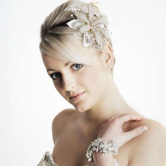 Super Acconciature sposa per capelli corti (Foto 8/40) | Stylosophy SD08