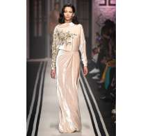 Long dress ricamato Elisabetta Franchi