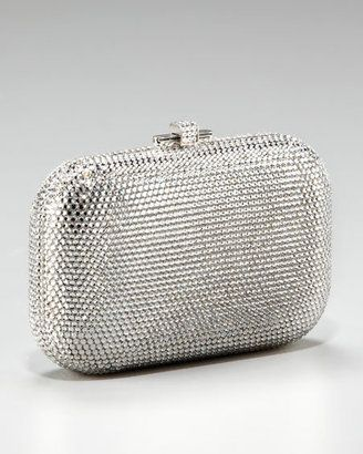Judith Leiber Beaded Slide Lock Clutch