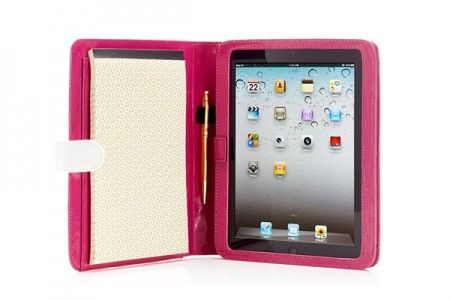 Juicy Couture iPad Case Notepad interno