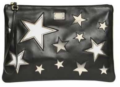 dolce and gabbana star wristlet clutch