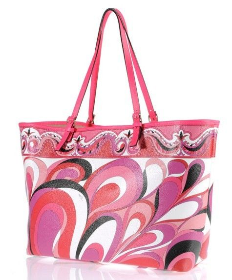 emilio pucci pe 2012 shopper colorata