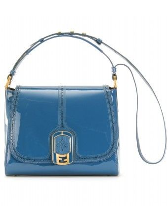 fendi new silvana bag turchese