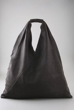 mm6 by maison margiela leather slouch bag
