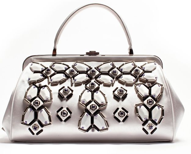 prada 2013 clutch glam