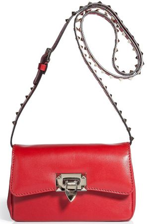 valentino rock stud crossbody handbag