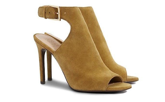 Ankle boot in camoscio Tory Burch