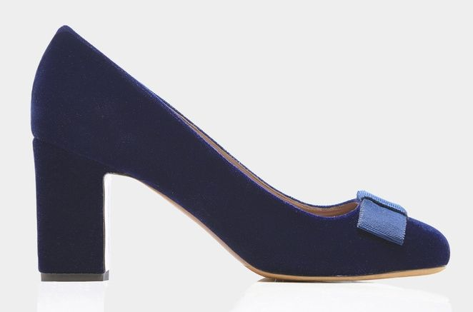 Pumps in velluto Tabitha Simmosn