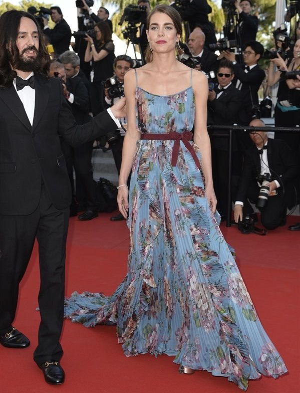 Charlotte Casiraghi in Gucci cannes 2015