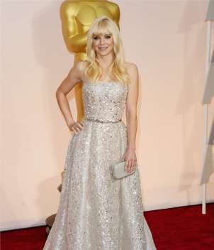 Anna Faris in Zuhair Murad Couture