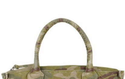 Borse Juicy Couture, Camouflage canvas tote