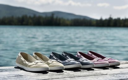 Ballerine Timberland, le nuove Earthkeepers Deering Boat simili a mocassini [FOTO]