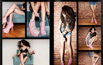 Scarpe Jeffrey Campbell, la Pink Rock Collection