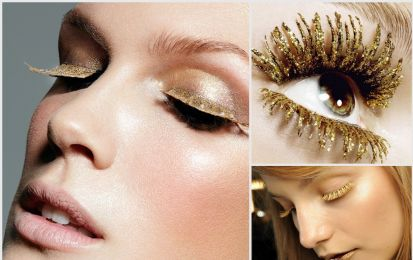 Mascara oro: la tendenza make up per l'estate 2018 più gettonata sui social